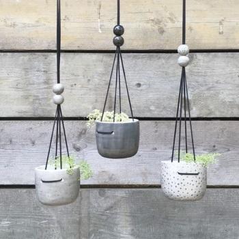 Rustic Ceramic Planters