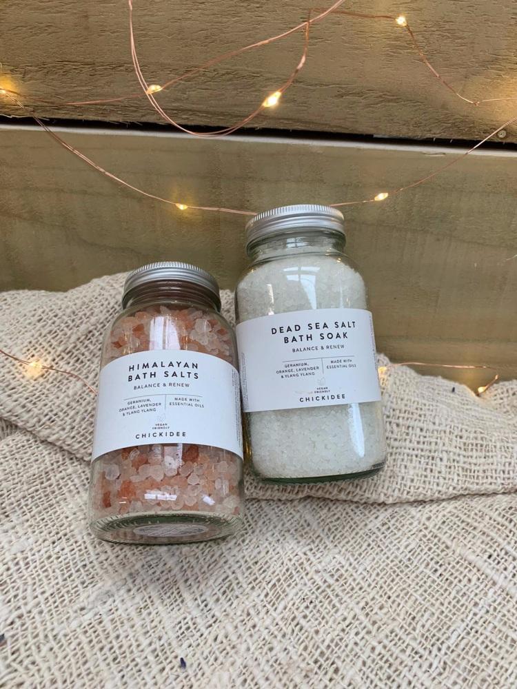 Dead Sea Salt Bath Soak