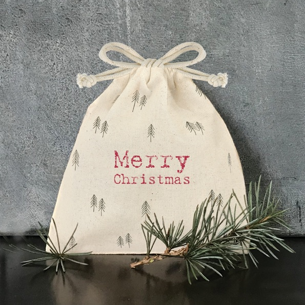 Drawstring Bag - Merry Christmas