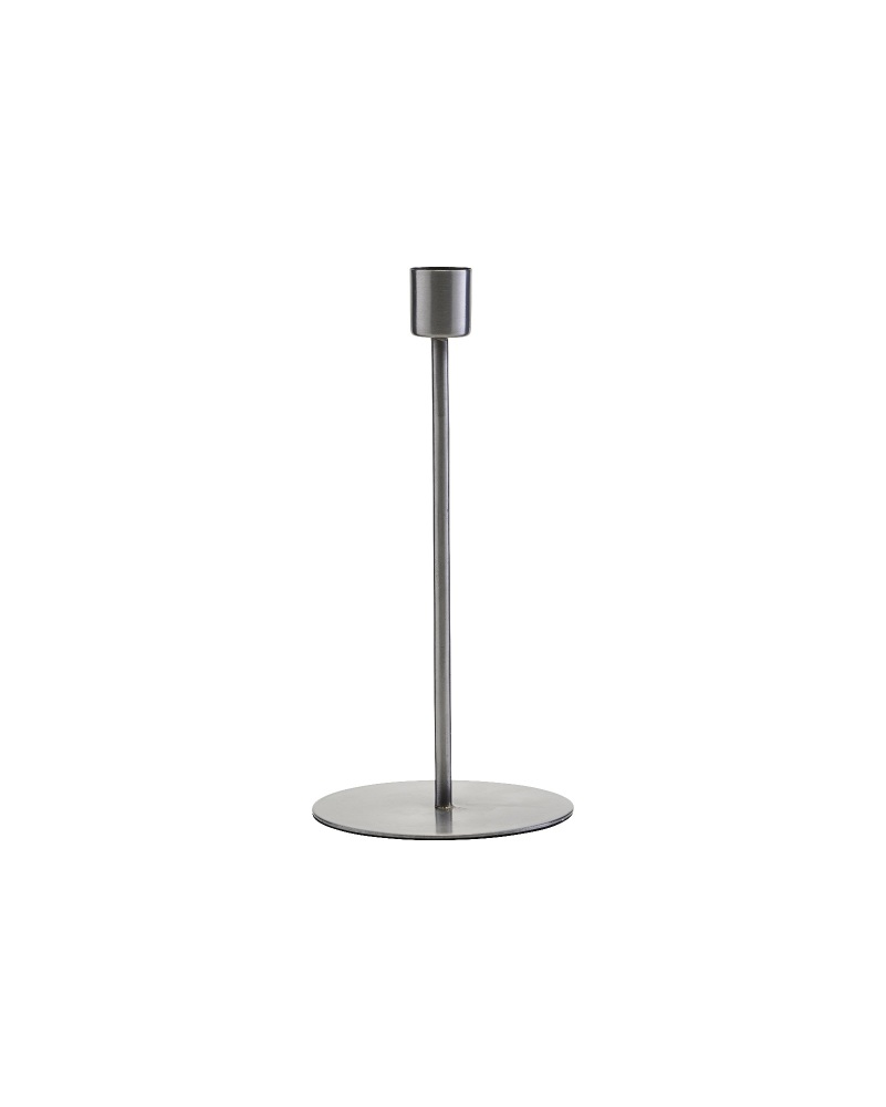 House Doctor Silver Candle Stick (Tall)