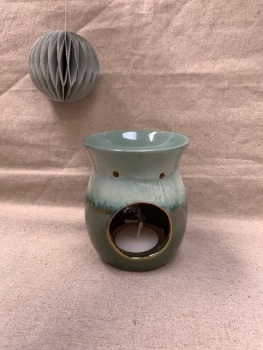Green Ombre Oil Burner