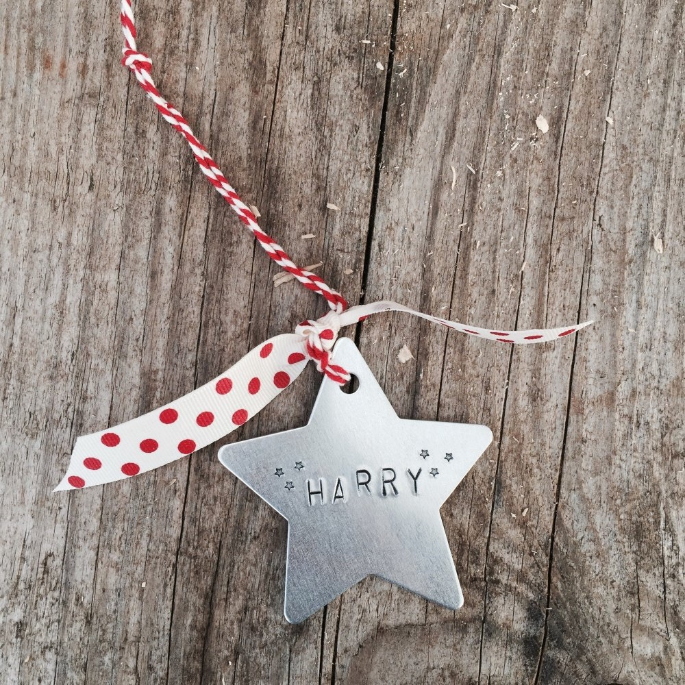 Hand-Stamped Decorations
