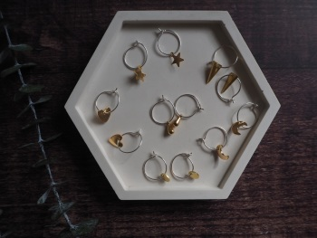 Mini Brass Hoop
