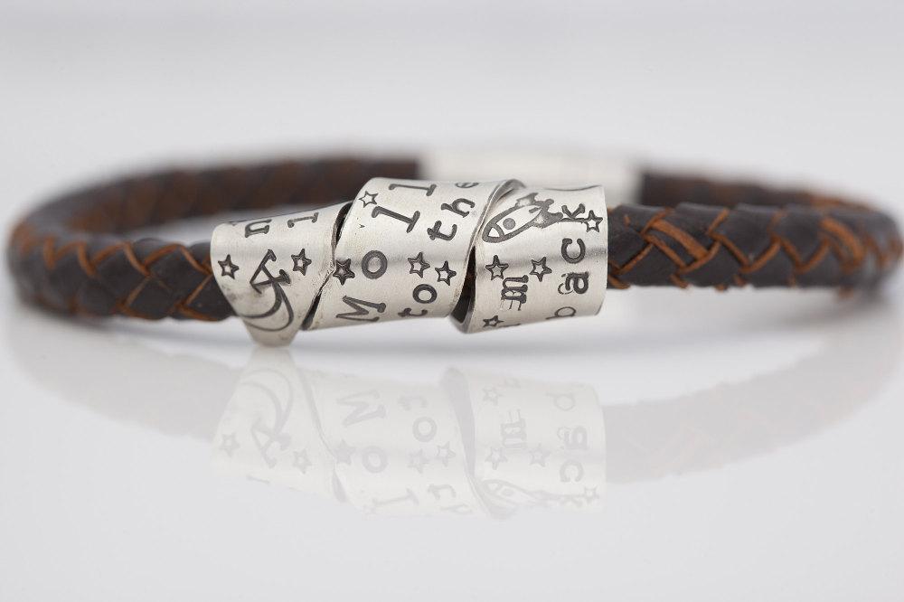 Men's Scroll bracelet