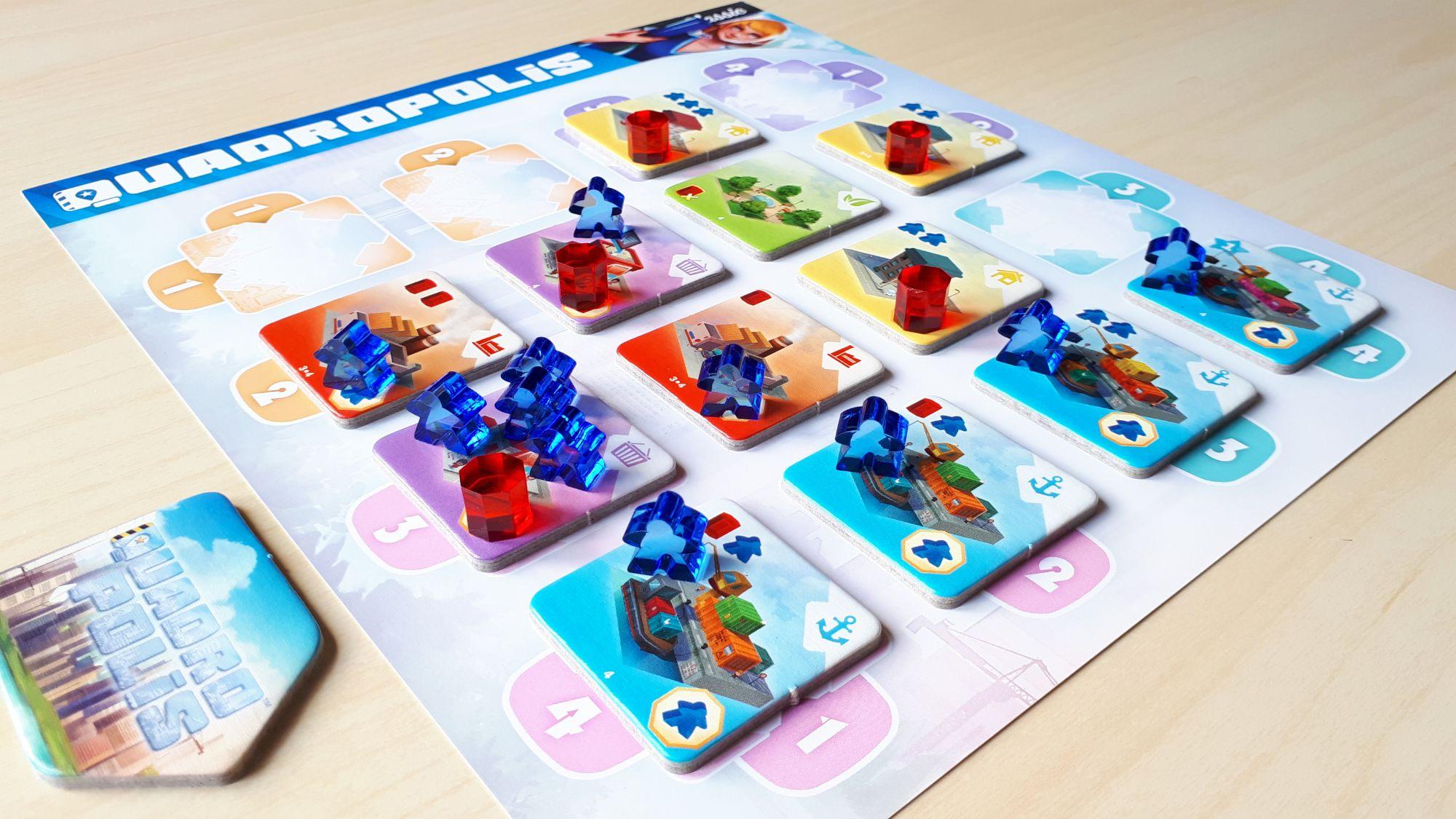 Quadropolis Boardgame