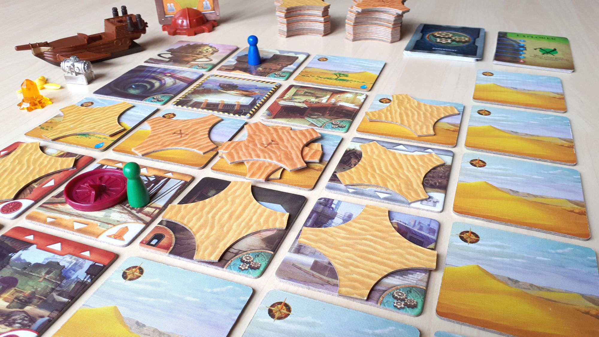 Forbidden Desert Tabletop Game