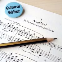 Liszt Piano Music, Pencil and Cultural Writer Badge
