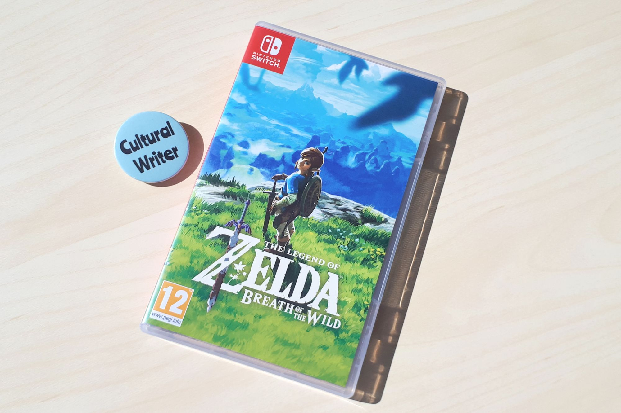 Breath of the Wild and Cultural Writer badge