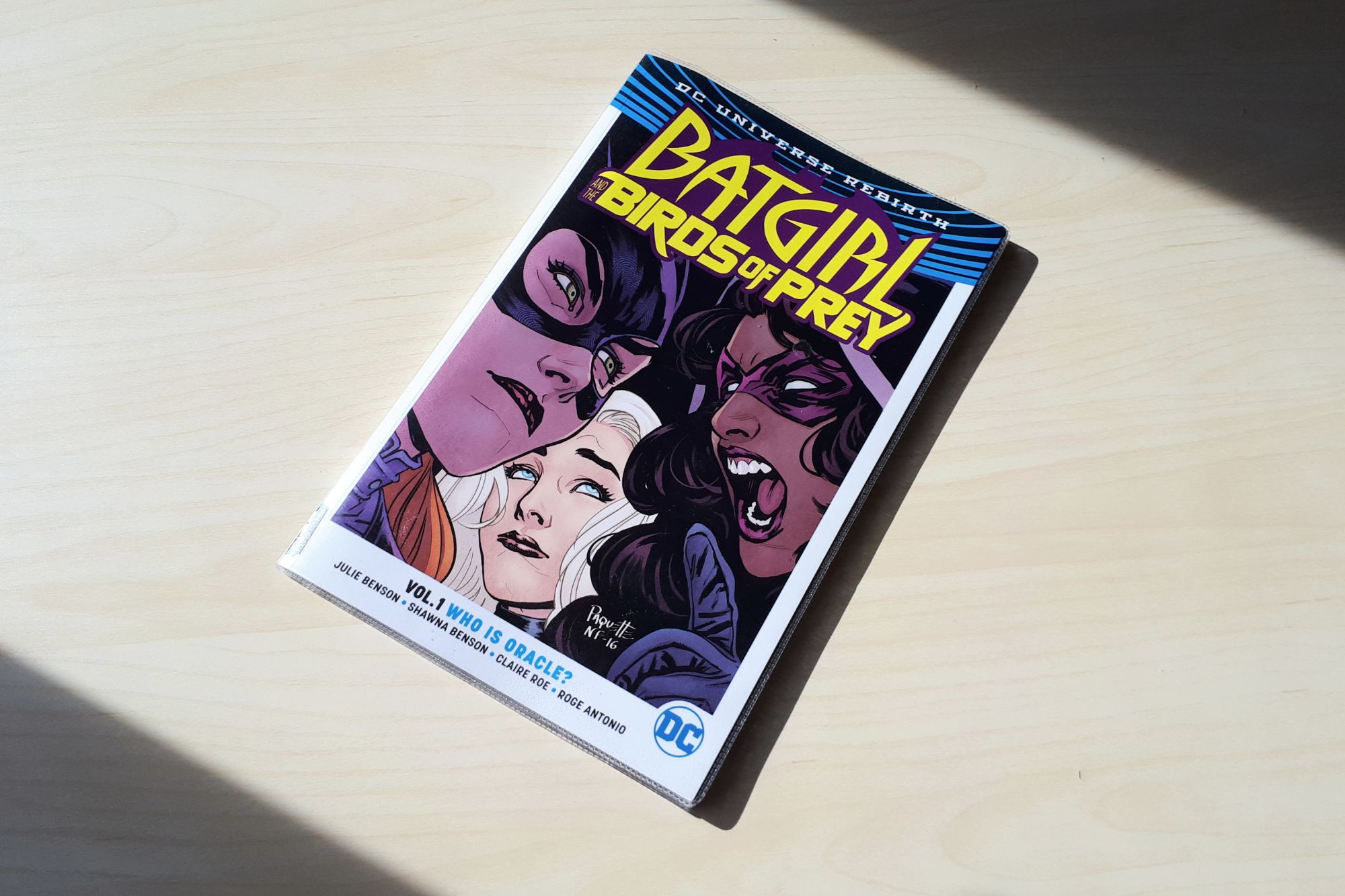 Batgirl Comic Graphic Novel