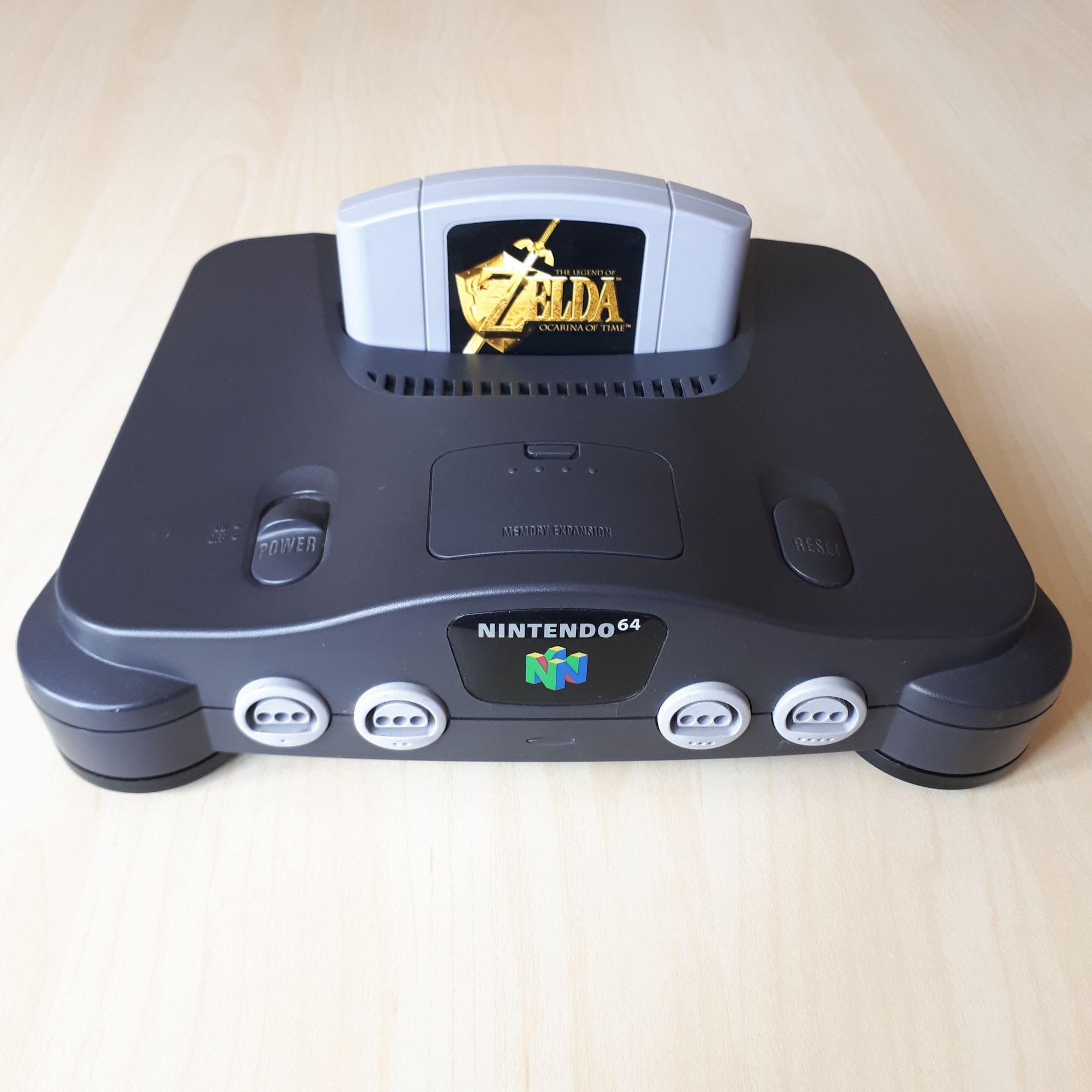 N64 with Zelda OOT