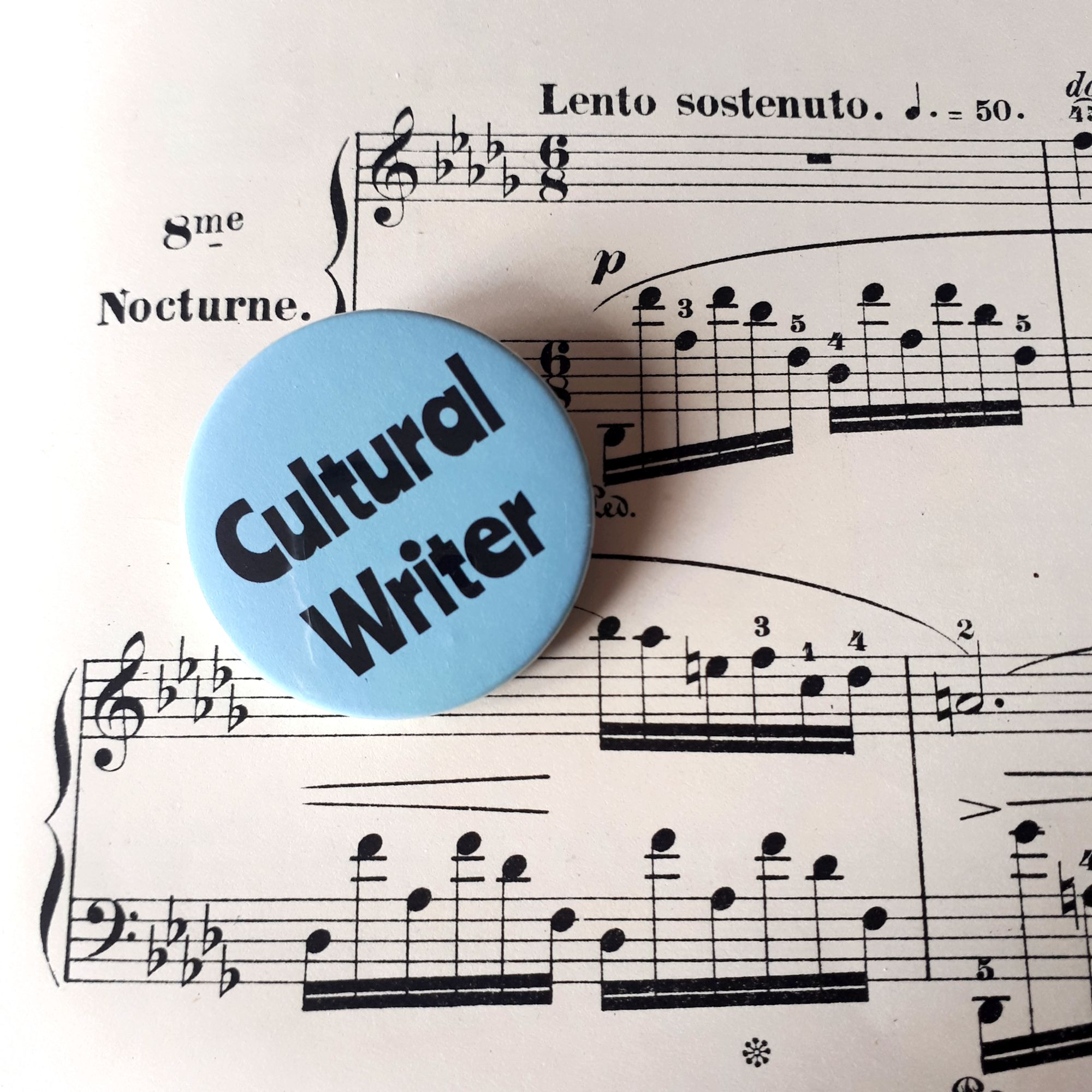 Cultural Writer and Piano Music