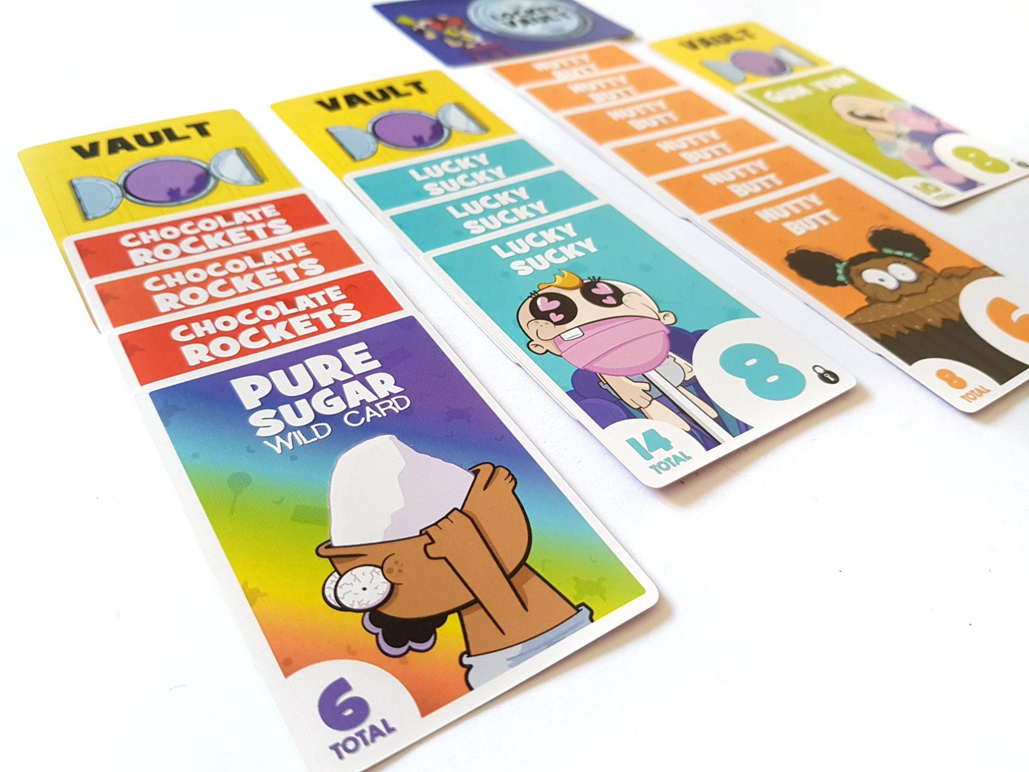 Sugar Heist card game