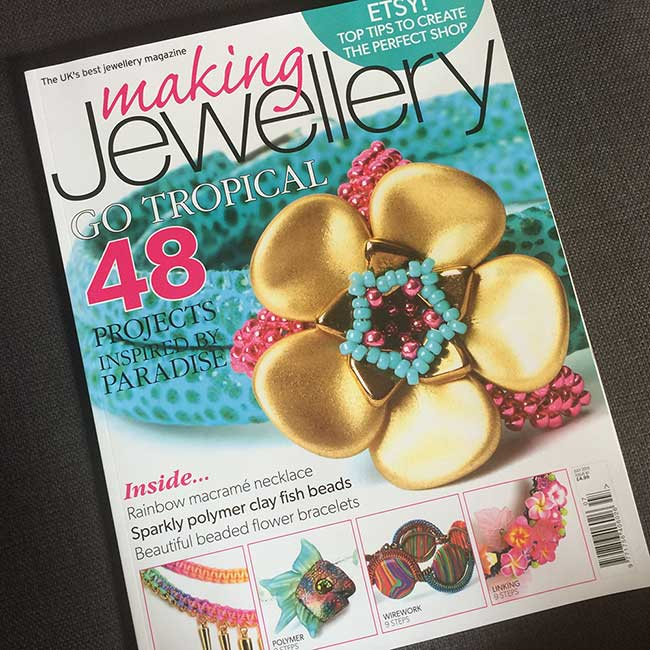 Isse 81 of Making Jewellery magazine