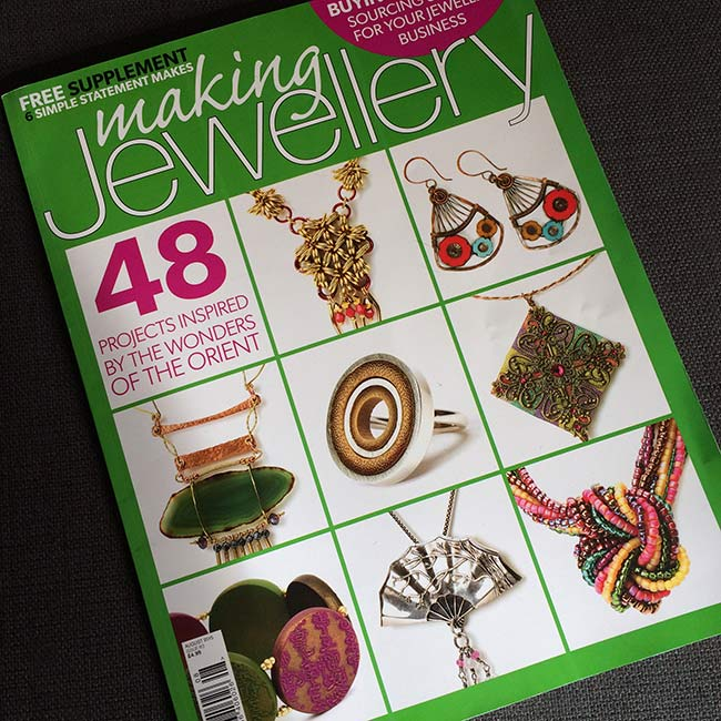 'Making Jewellery' Magazine