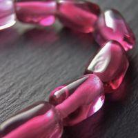 'Cherry Rose' Stretch Bracelet