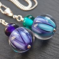 <!-- 002 -->Lampwork Necklaces