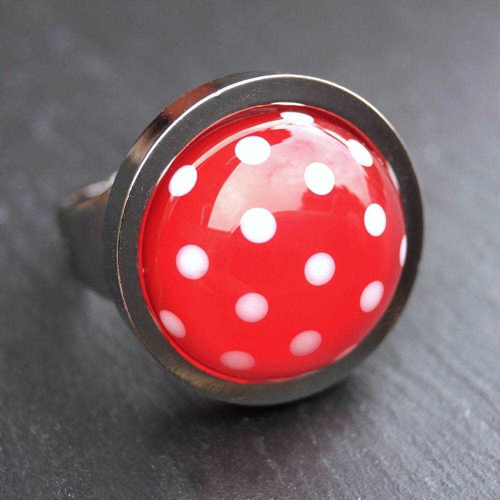 'Strawberry' Ring