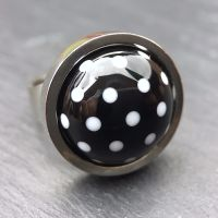 'Black & White' Ring