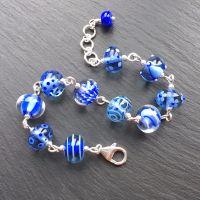 'Blue Harvest' Bracelet