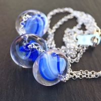 'Blue Harvest' Little Something Necklace
