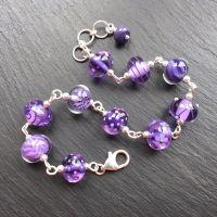 'Ultraviolet' Bracelet