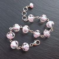 'Marshmallow' Daisychain Bracelet