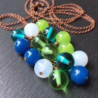 'Budgie' Cluster Pendant Necklace