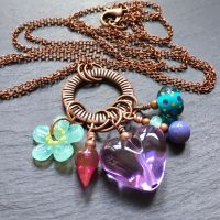 'Flower Power' Hodgepodge Necklace