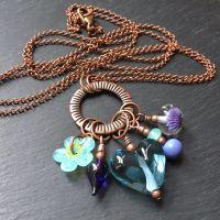 'Larkspur' Hodgepodge Necklace