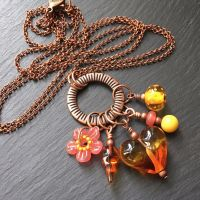 'Sunset' Hodgepodge Necklace