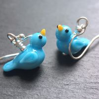 'Bluebird' Earrings