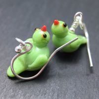 'Parakeet' Earrings