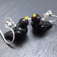 'Blackbird' Earrings