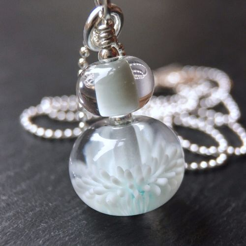 'Cloud' Anemone Necklace