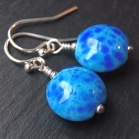 'Winter Blues' Earrings