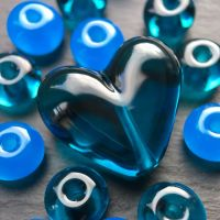 'Neptune' Heart & Spacers
