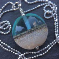 'Shoreline' Lentil Necklace