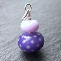 'Hyacinth' Polka Dots Pendant
