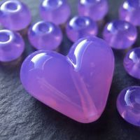 'Wisteria' Heart & Spacers