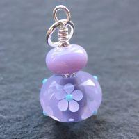 Lavender 'Ditsy' Pendant