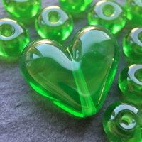 'Wheatgrass' Heart & Spacers