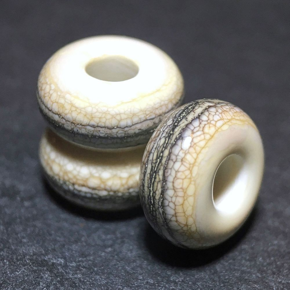 'Strata' Big Hole Bead