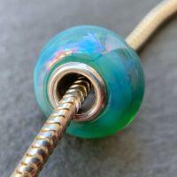 'Neptune' Silver Core Bead