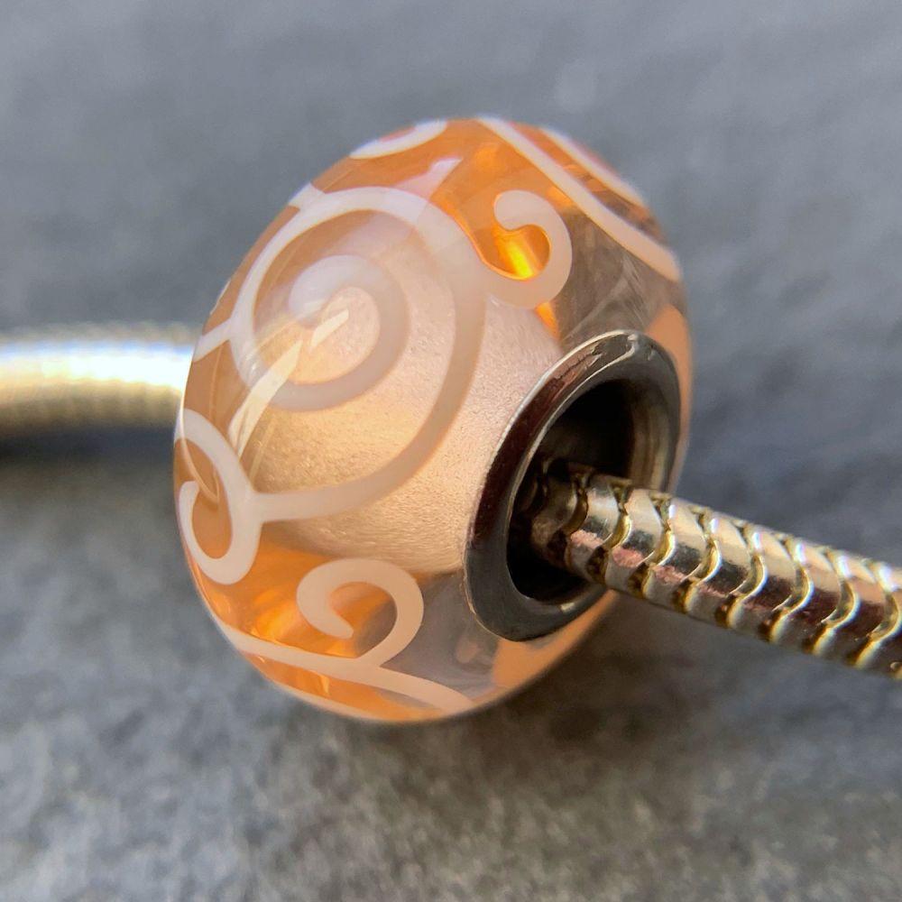 'Nectar' Silver Core Bead
