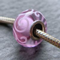 'Rosato' Silver Core Bead