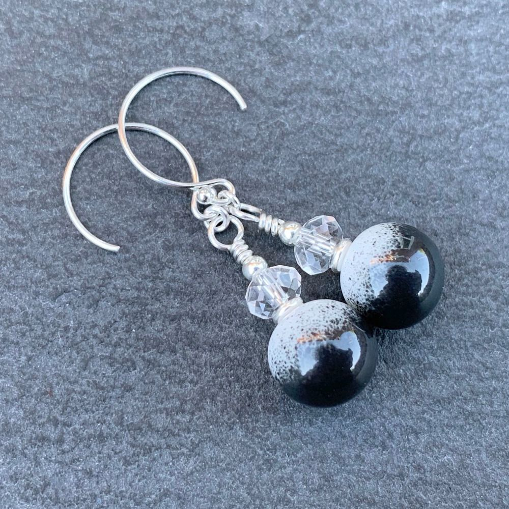 'Panda' Earrings