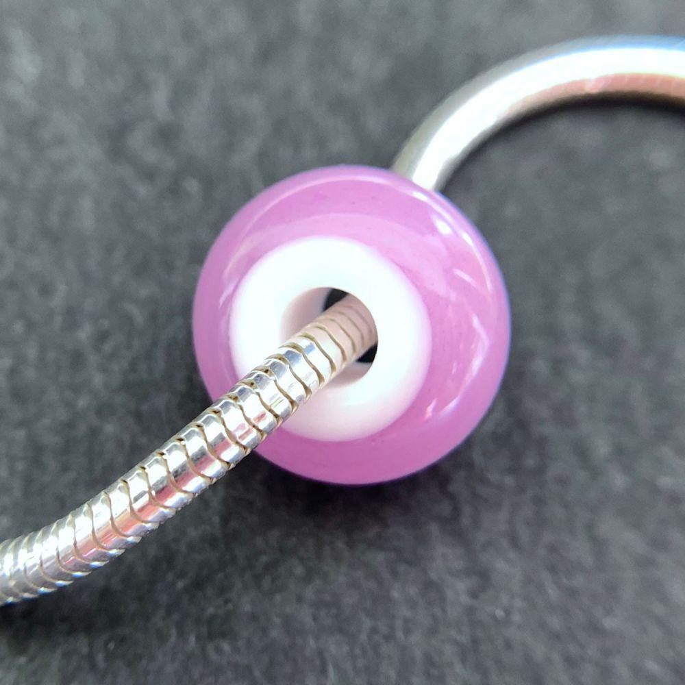 'Heather' Big Hole Bead