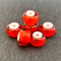 'Firedragon' White Heart Spacers
