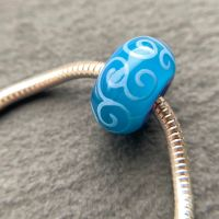 'Peacock Feather' Big Hole Bead