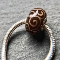 'Chocolate' Silver Core Bead